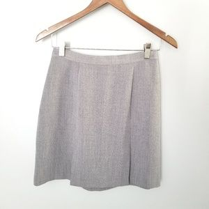 {Vintage} Gray Pleated Skirt Size 9
